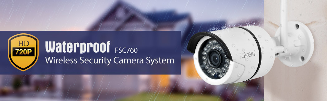 FSC760 720P Waterproof Wirelee IP Camera