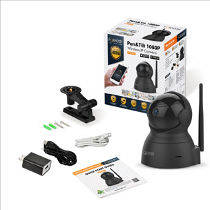1080P Pan/Tilt/Zoom Wireless IP Camera FSC881