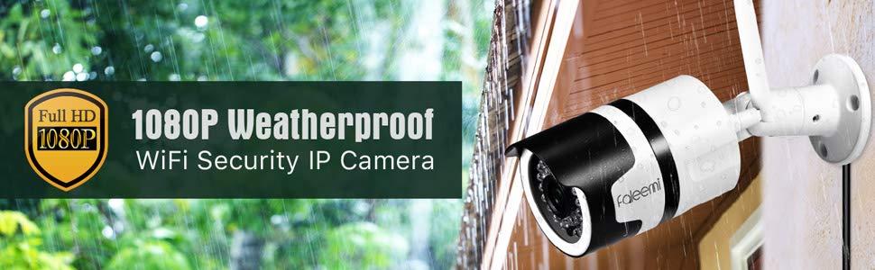 FSC861 1080P Waterproof Wirelee IP Camera